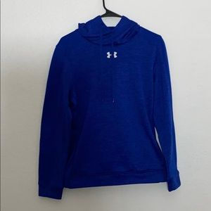 blue under amour hoodie